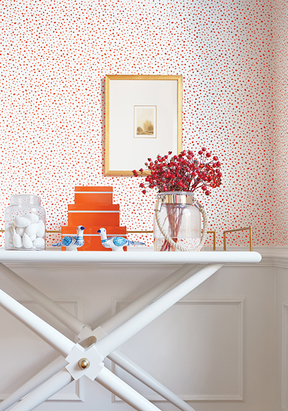 polka dot wallpaper pattern