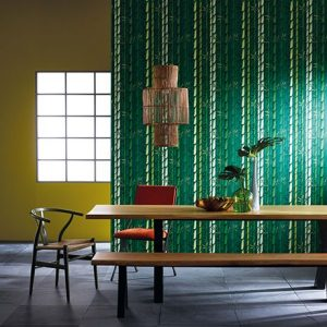 green bamboo wallpaper and mural