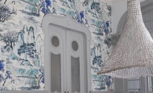 wallcovering on wall designers guild