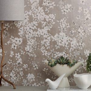 floral wallcovering by romo