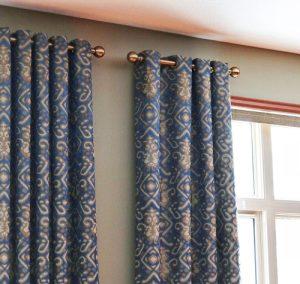 Drape pattern room image