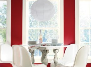 dining color of the year benjamin moore caliente