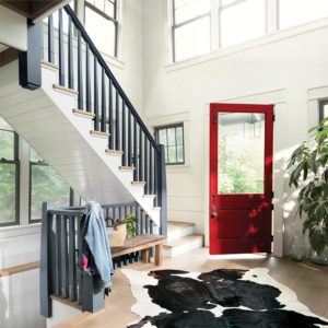 door color of the year benjamin moore caliente