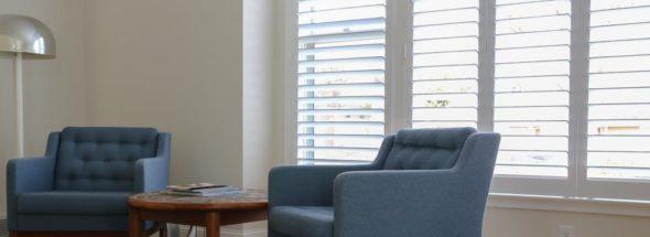 Graber shutters in living room