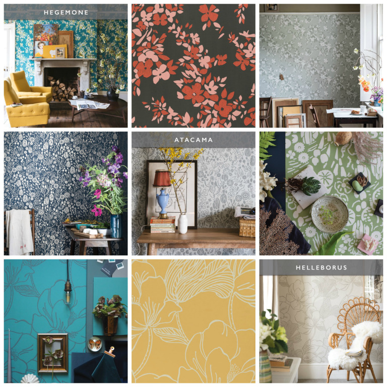 Farrow & Ball Wallpapers 2017