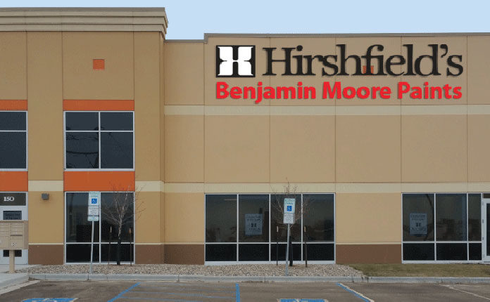 west fargo hirshfields benjamin moore paints store