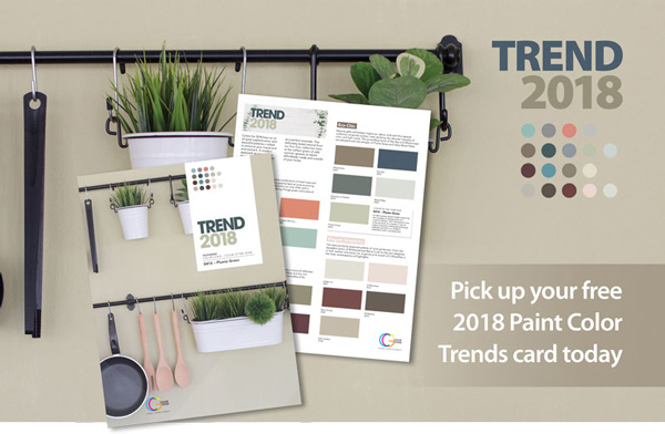 Hirshfield's 2018 Color Trends