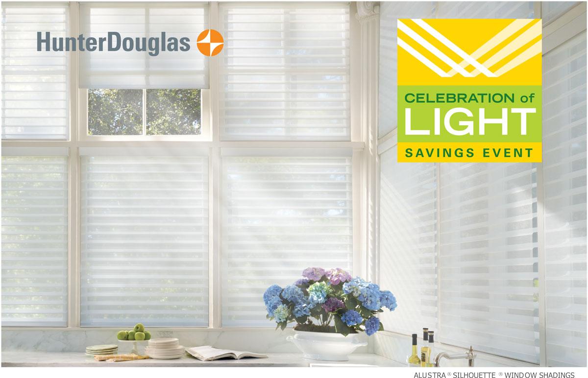 hunter douglas celebration of light 2018