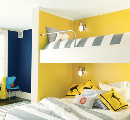 Yellow Highlighter Paint by Benjamin Moore