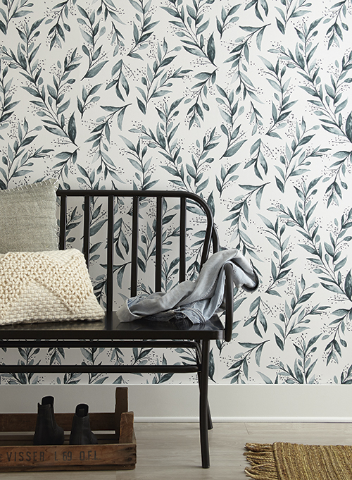Magnolia Home wallpaper olive branch