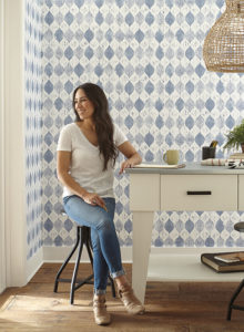 Magnolia Home Wallpaper Woodblock