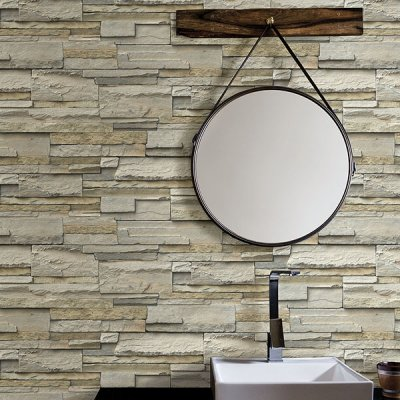 Stone wallpaper by Brewster