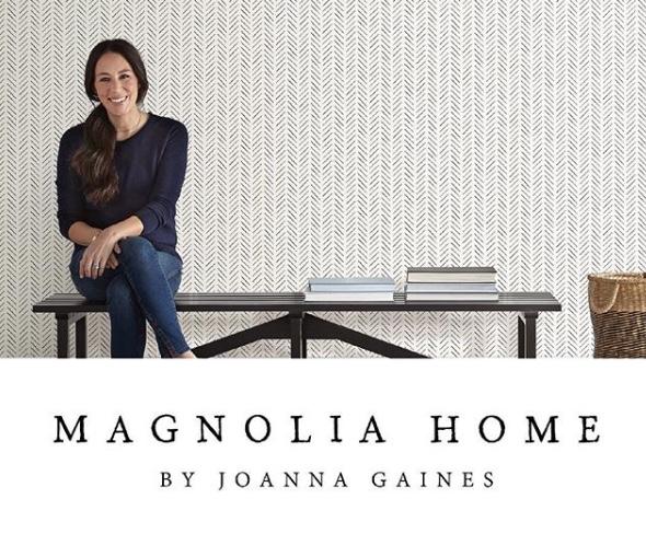Magnolia Home Wallpaper Book