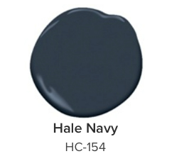 hc-154 hale navy benjamin moore color