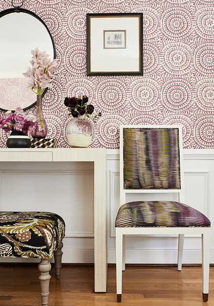 Paramount Wallpaper And Fabric Collection From Thibaut Hirshfield S