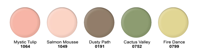 March Paint Colors from Hirshfield's
