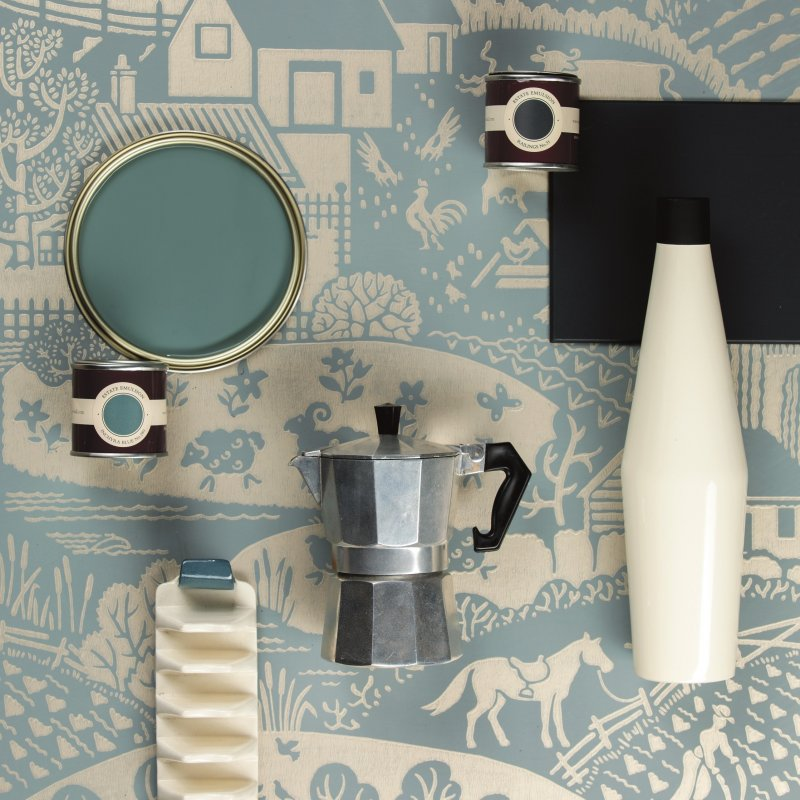 Gable Wallcoverings by Farrow & Ball