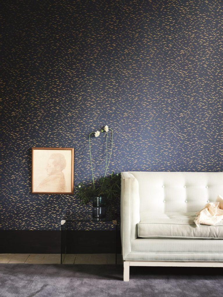 Yukutori wallpaper pattern at Hirshfield's