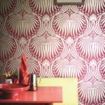 Metallic wallpaper by Farrow & Ball