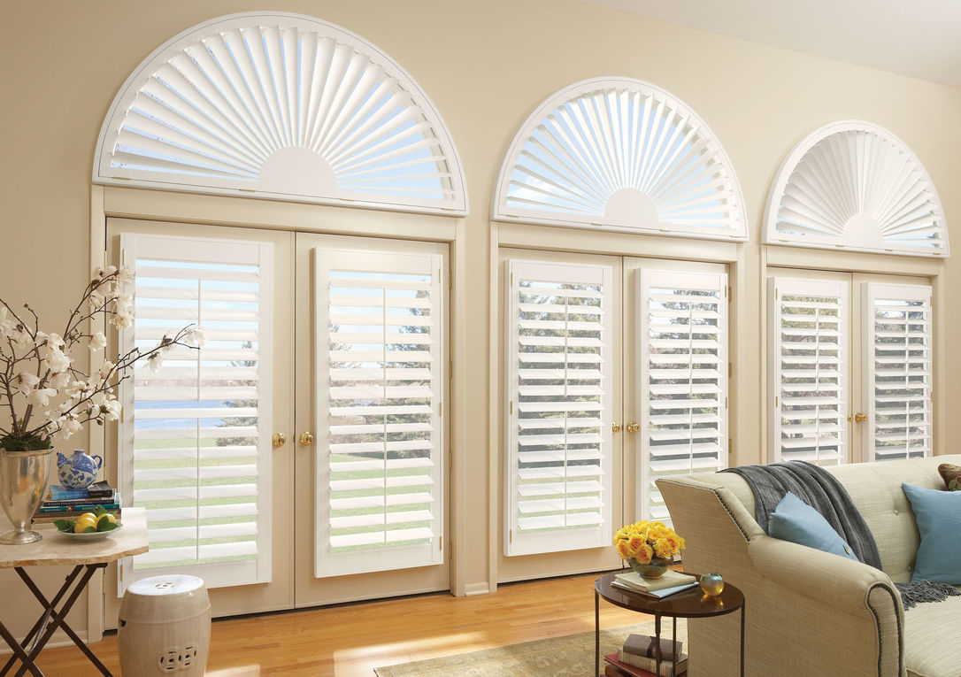 window covering hunter douglas shutters