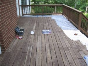 Deck in bad shape