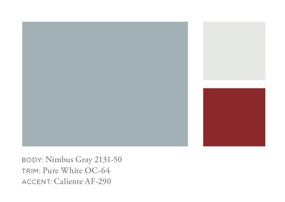 Benjamin Moore Nimbus Gray