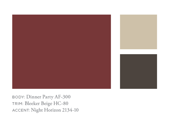 Benjamin Moore Dinner Party