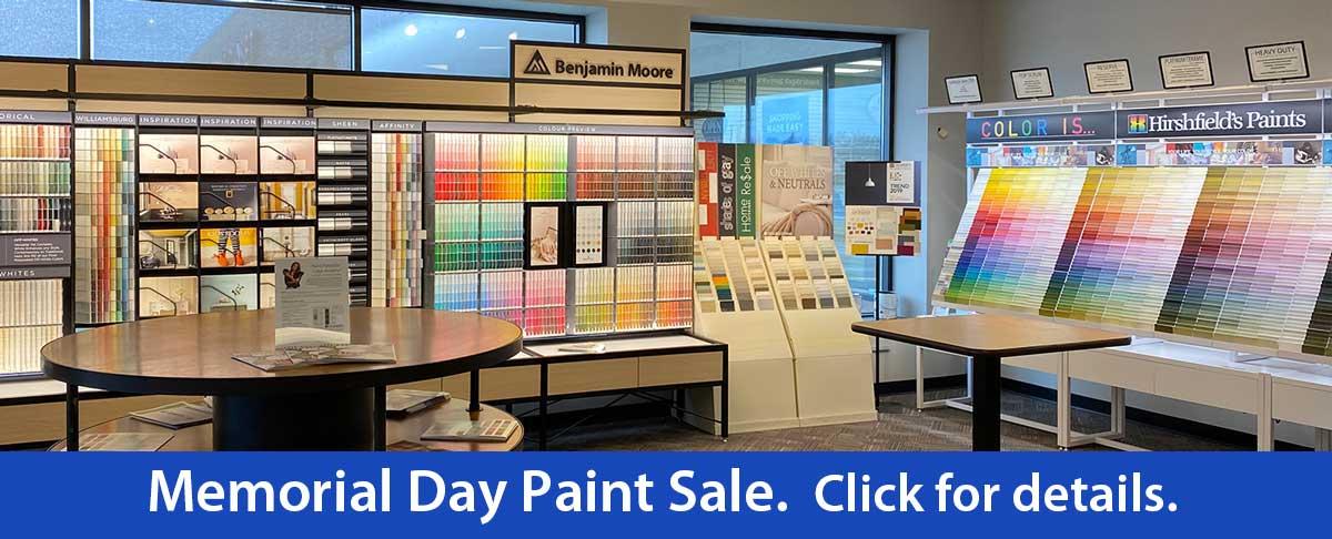 Memorial Day Paint Sale