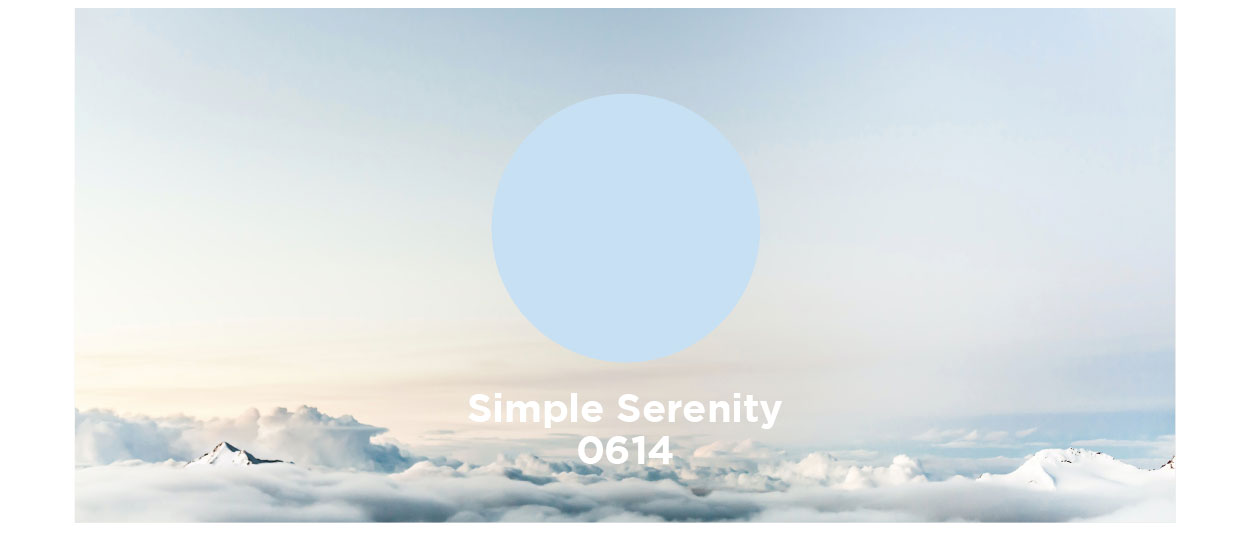 Hirshfield's Paint Color of the Year 2021 Simple Serenity