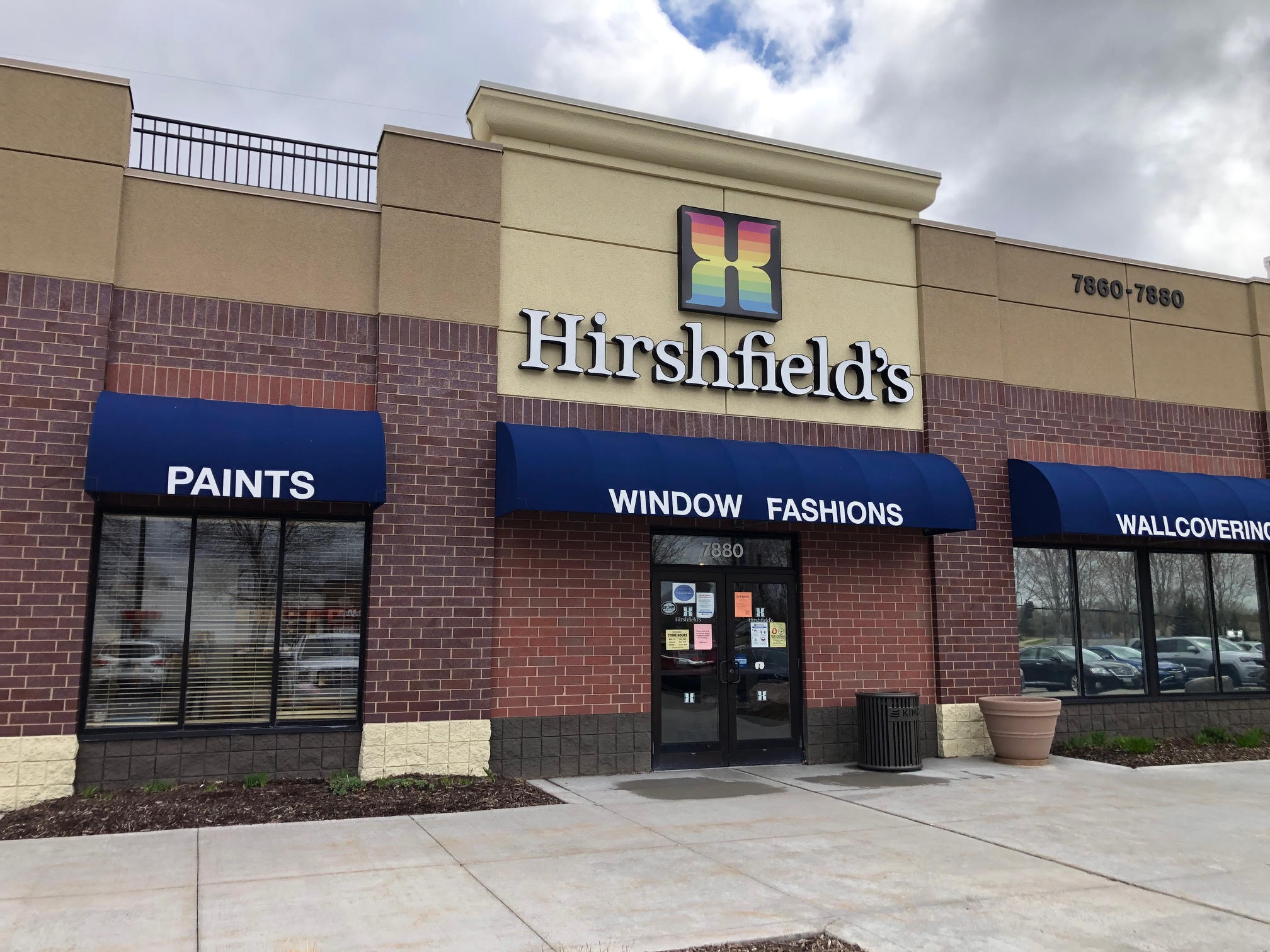 Hirshfield's Store Exterior