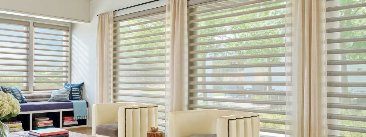 Hunter Douglas Pirouette® Window Shadings