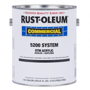 rust-oleum industrial dtm acrylic