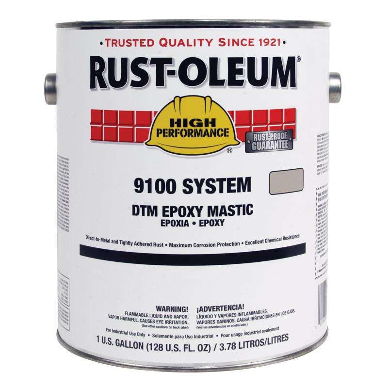 rust-oleum industrial dtm epoxy mastic
