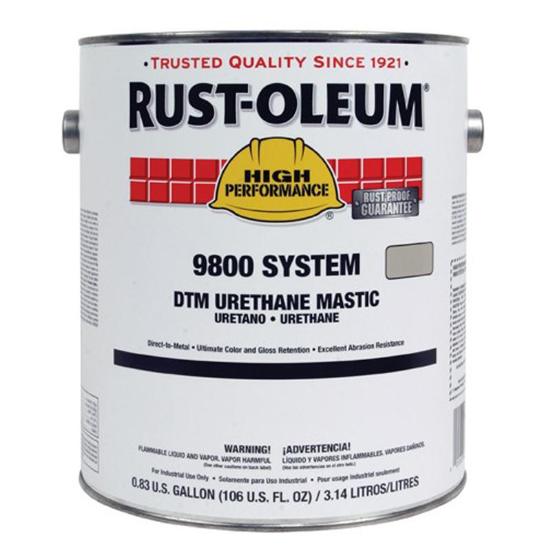 rust-oleum industrial dtm urethane mastic