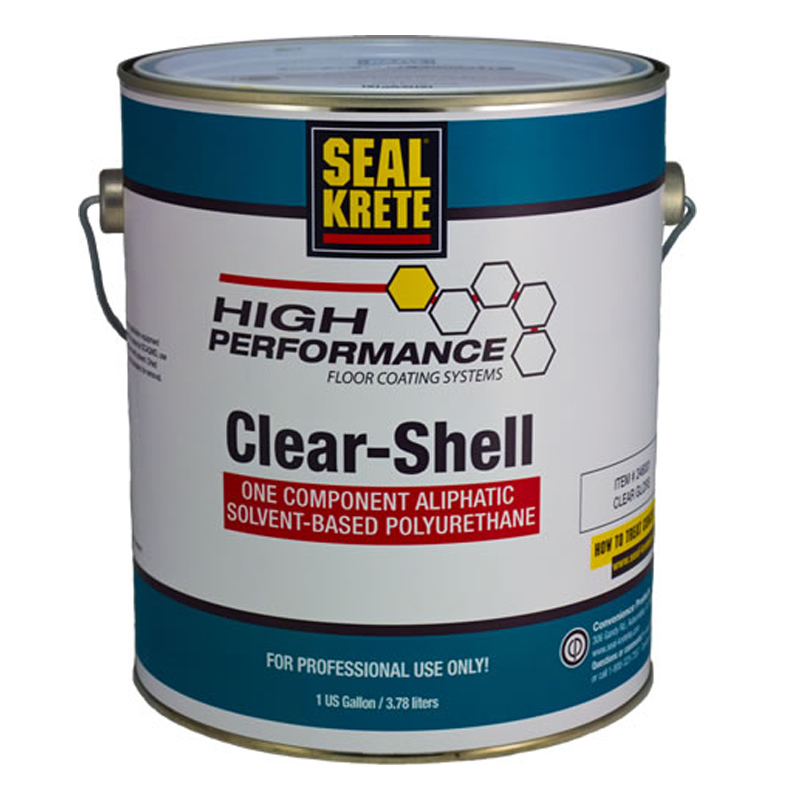 seal krete clear shell