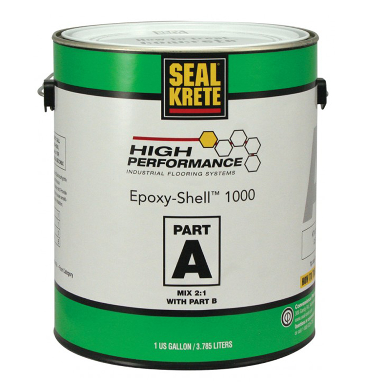 seal krete epoxy shell