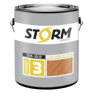 storm system stains linseed oil finish semi solid