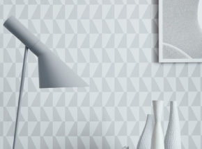 geometric wallcovering pattern