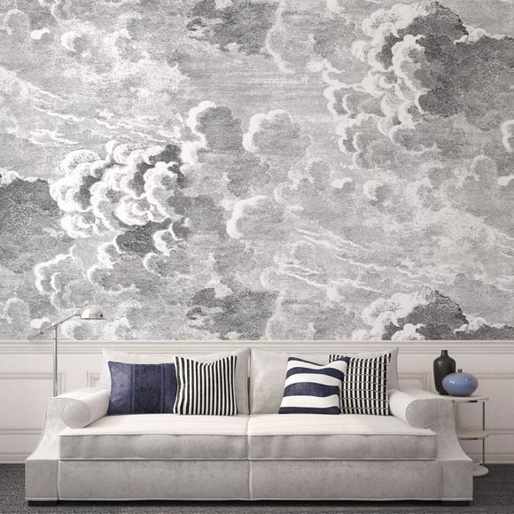 clouds wallcovering
