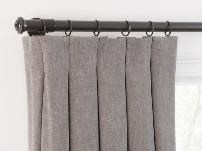 drapery hardware and side panels