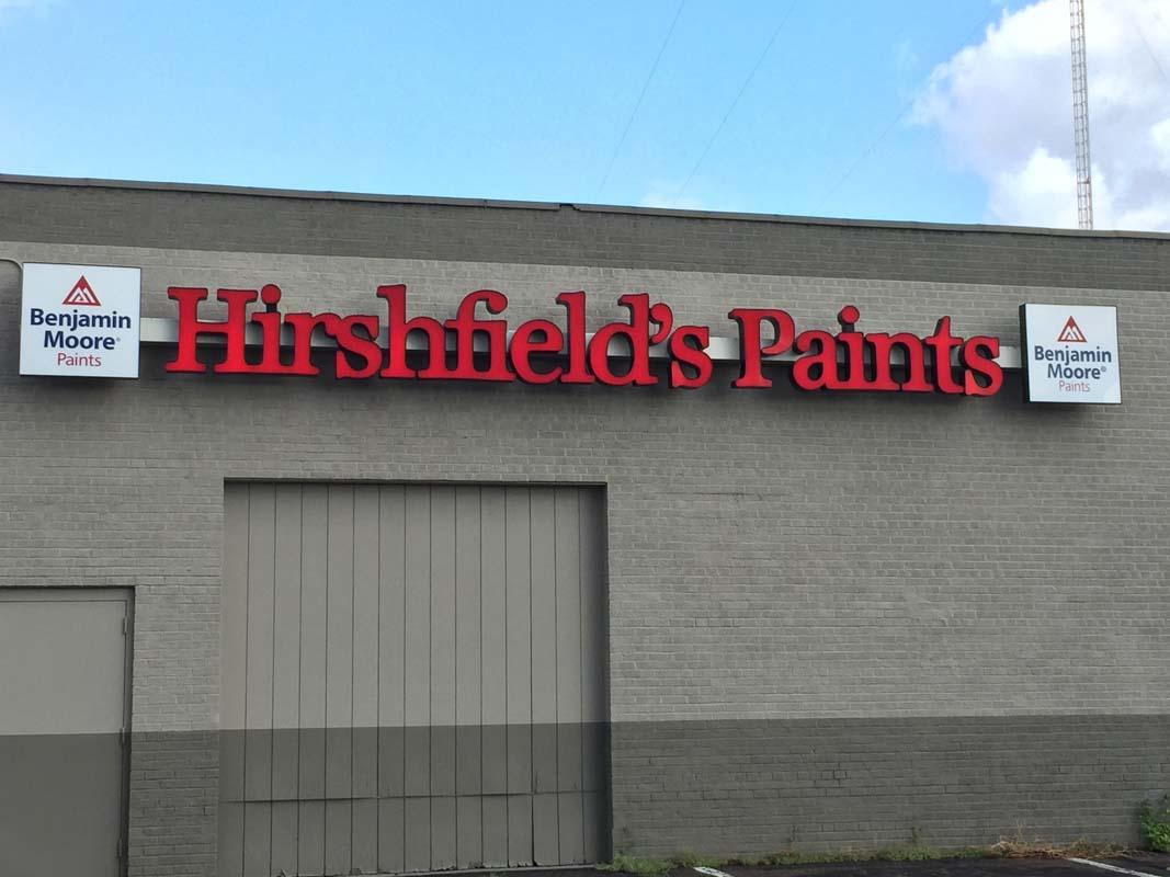 eau claire 1 hirshfields paints store exterior