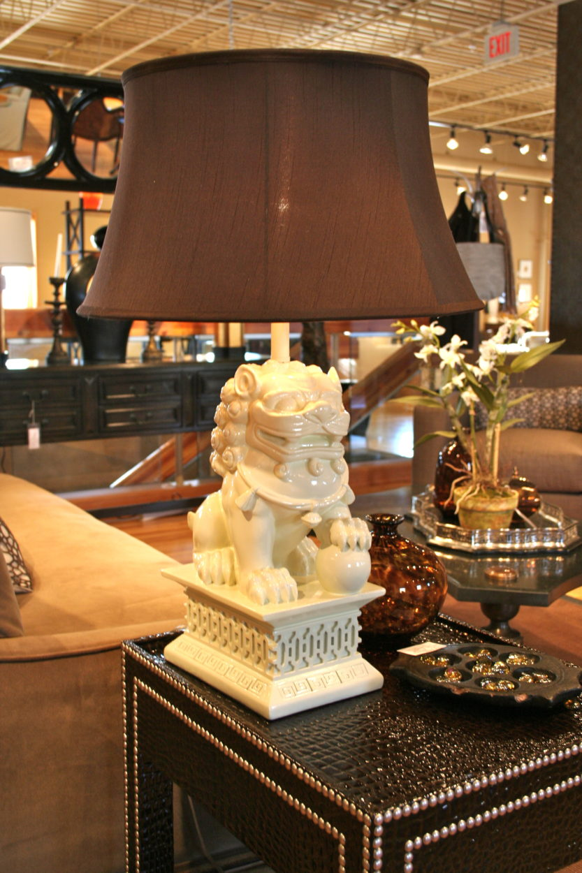 Lovely Foo Dog Lamp