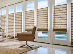 roman shades room image