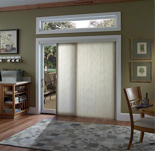 Window Treatment Wednesday Best Window Treatments For Sliding Glass Doors Hirshfield S