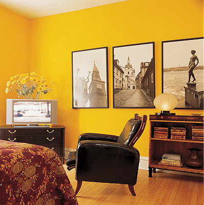Yellow Paint Walls Ideas - Home is Best Place to Return
